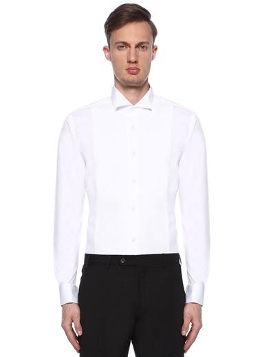 Beymen Club Smokin Gömlek Beyaz